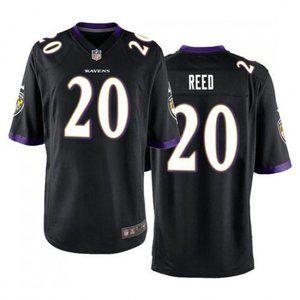 Ravens Ed Reed Black Jersey